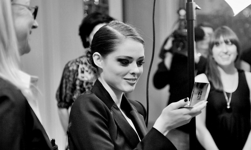 Yves Saint Laurent make-up event